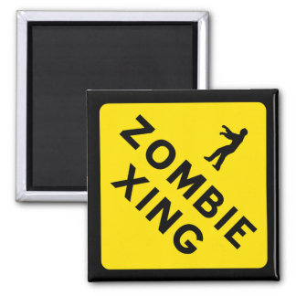Zombie Xing Magnet