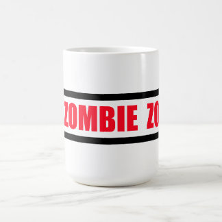 Zombie Zone Coffee Mug
