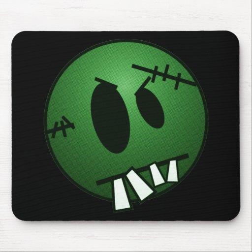 ZOMBIECON FACE - GREEN MOUSEPADS