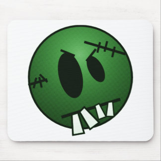 ZOMBIECON FACE - GREEN MOUSE PAD