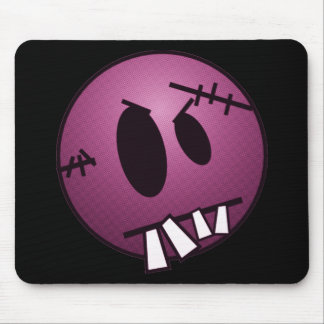 ZOMBIECON FACE - PINK MOUSE PAD