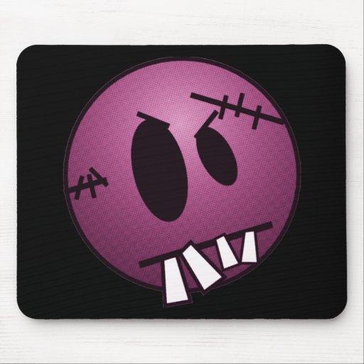 ZOMBIECON FACE - PINK MOUSEPADS