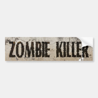 ZombieKillerRifle01 Bumper Stickers