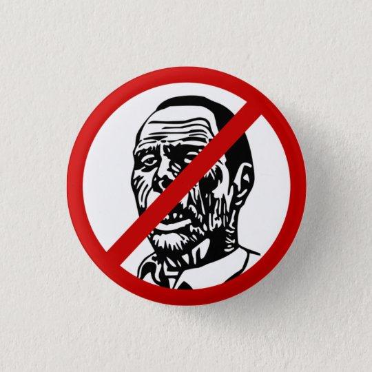 zombies 3 cm round badge
