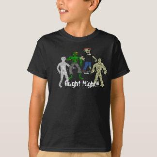 ZOMBIES AND MUMMIES KIDS TEE SHIRT
