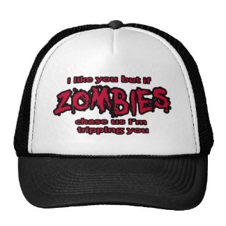zombies and trippimng cap