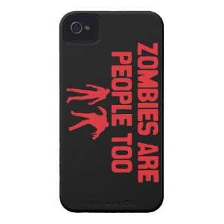 Zombies Are People Too iPhone 4 Case-Mate Case