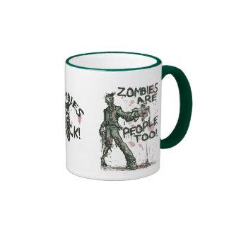 Zombies are People too Gear Coffee Mug
