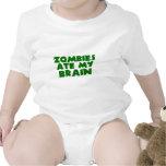 Zombies Ate My Brain Baby Bodysuit