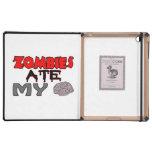 Zombies Ate My Brain iPad Folio Cases