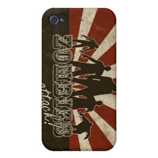 Zombies Attack iPhone 4/4S Covers
