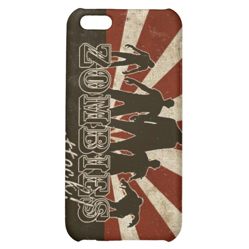 Zombies Attack iPhone 5C Cases