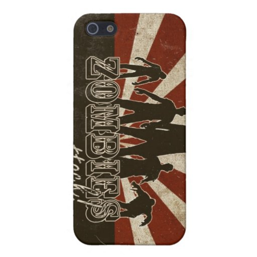 Zombies Attack Cases For iPhone 5