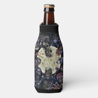 Zombies Attack (Zombie Horde) Bottle Cooler