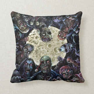Zombies Attack (Zombie Horde) Cushion