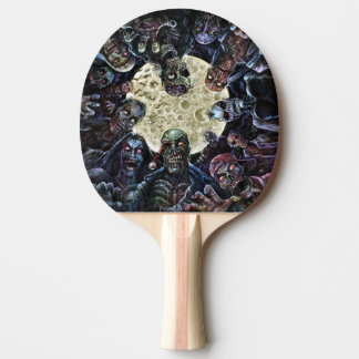 Zombies Attack (Zombie Horde) Ping Pong Paddle