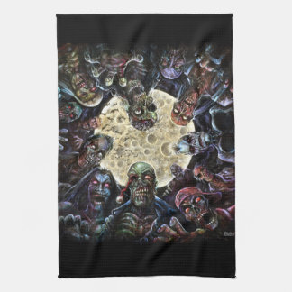 Zombies Attack (Zombie Horde) Tea Towel
