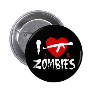 Zombies 6 Cm Round Badge