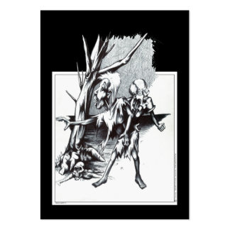 Zombies Large Business Cards (Pack Of 100)