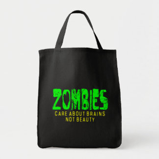 ZOMBIES CARE ABOUT BRAINS - bag