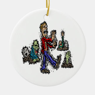 Zombies Christmas Ornament