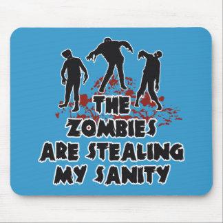 Zombies custom color mousepad