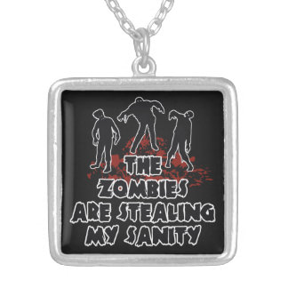 Zombies custom color necklace