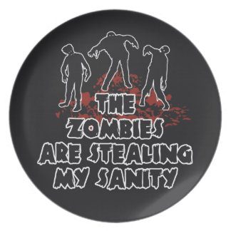 Zombies custom color plate