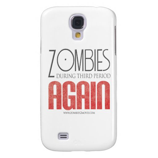 Zombies During Third Period: Again Samsung Galaxy S4 Cover