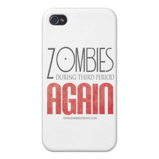 Zombies During Third Period Again iPhone 4/4S Covers