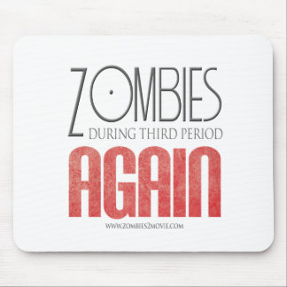 Zombies During Third Period Again Mouse Pads