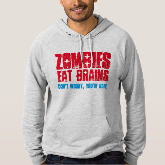 zombies eat brains funny t-shirt design