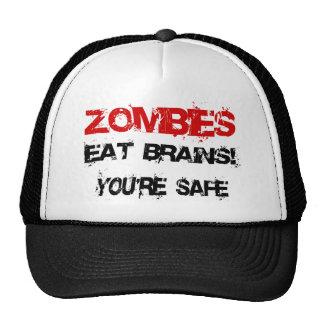 Zombies Eat Brains! Trucker Hat