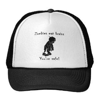 Zombies Eat Brains - You're Safe Cap