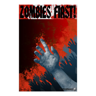 Zombies First! Poster