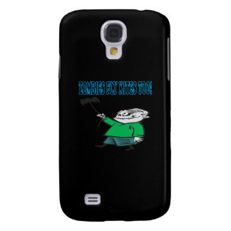 Zombies Fly Kites Too Galaxy S4 Case