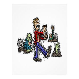 Zombies 21.5 Cm X 28 Cm Flyer