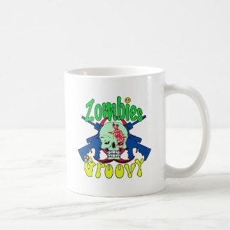 Zombies Groovy 70s Coffee Mug