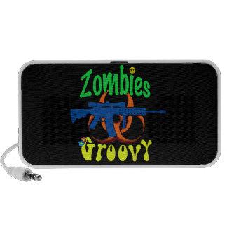 Zombies Groovy iPhone Speaker