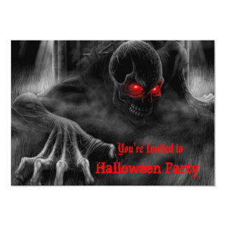 Zombies Halloween Party Invitation