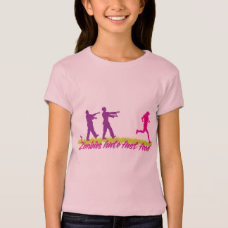 Zombies Hate Fast Food (Girls) T-Shirt