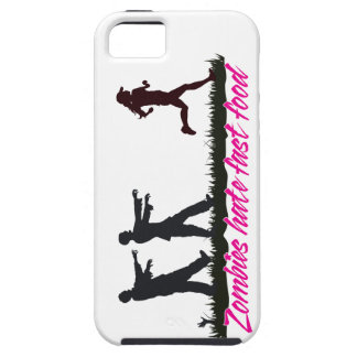 Zombies Hate Fast Food (Girls) Tough iPhone 5 Case