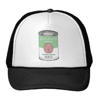 Zombie's Human Brain Soup Trucker Hat