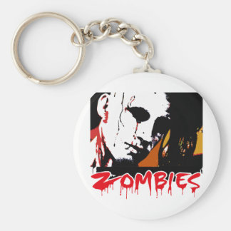 Zombies Hunter Key Chain