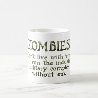 Zombies Industrial Military Complex Morphing Mug