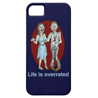 Zombies: Life is Overrated iPhone 5 Case
