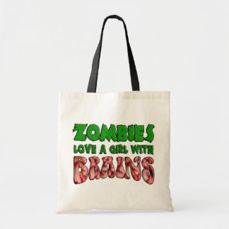 Zombies Love a Girl with Brains