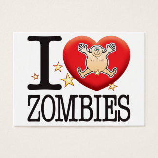 Zombies Love Man Business Card