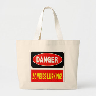 Zombies Lurking Canvas Bags
