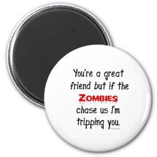 Zombies Fridge Magnet